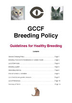 GCCF Breeding Policy
